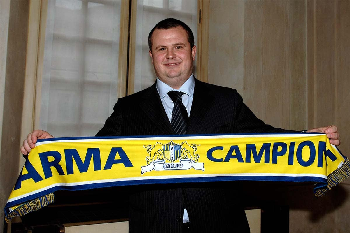 Parma's new President Ghirardi