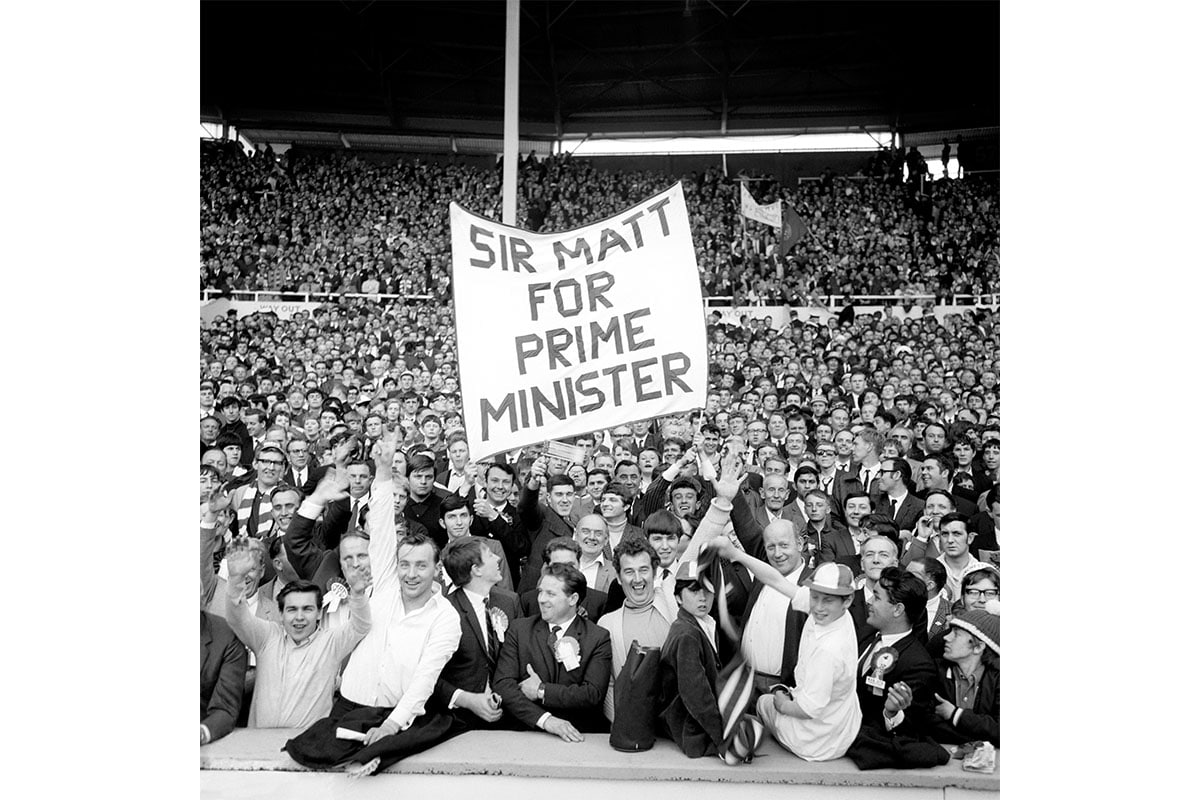 United fans anticipate Busby's knighthood
