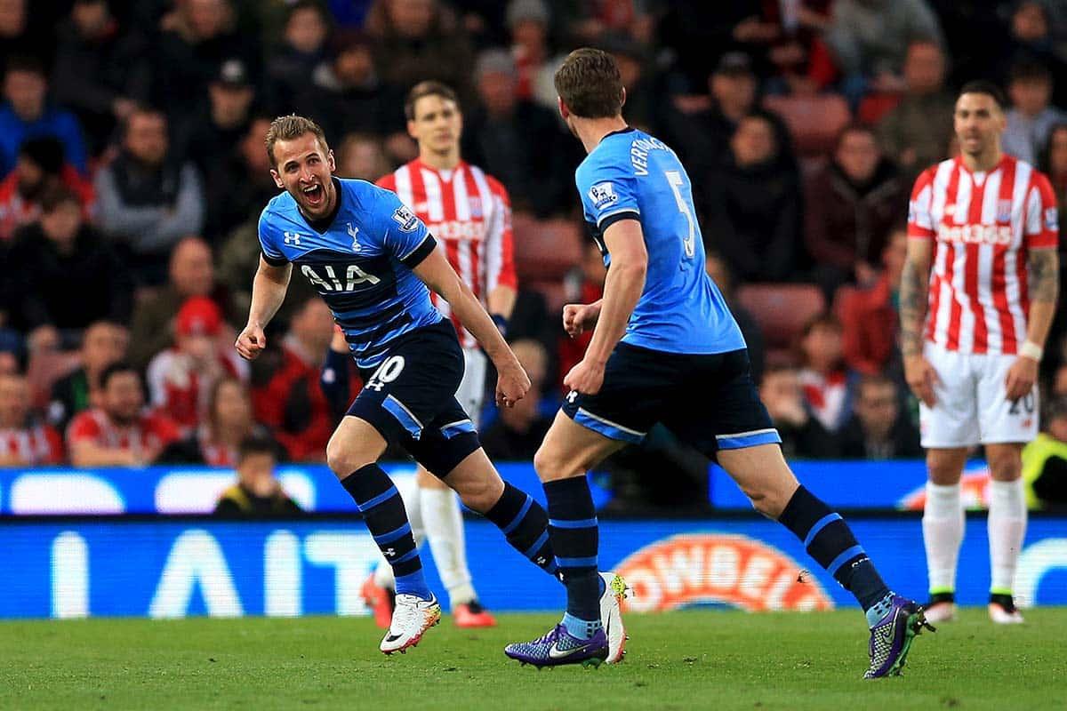 Harry Kane vs Stoke