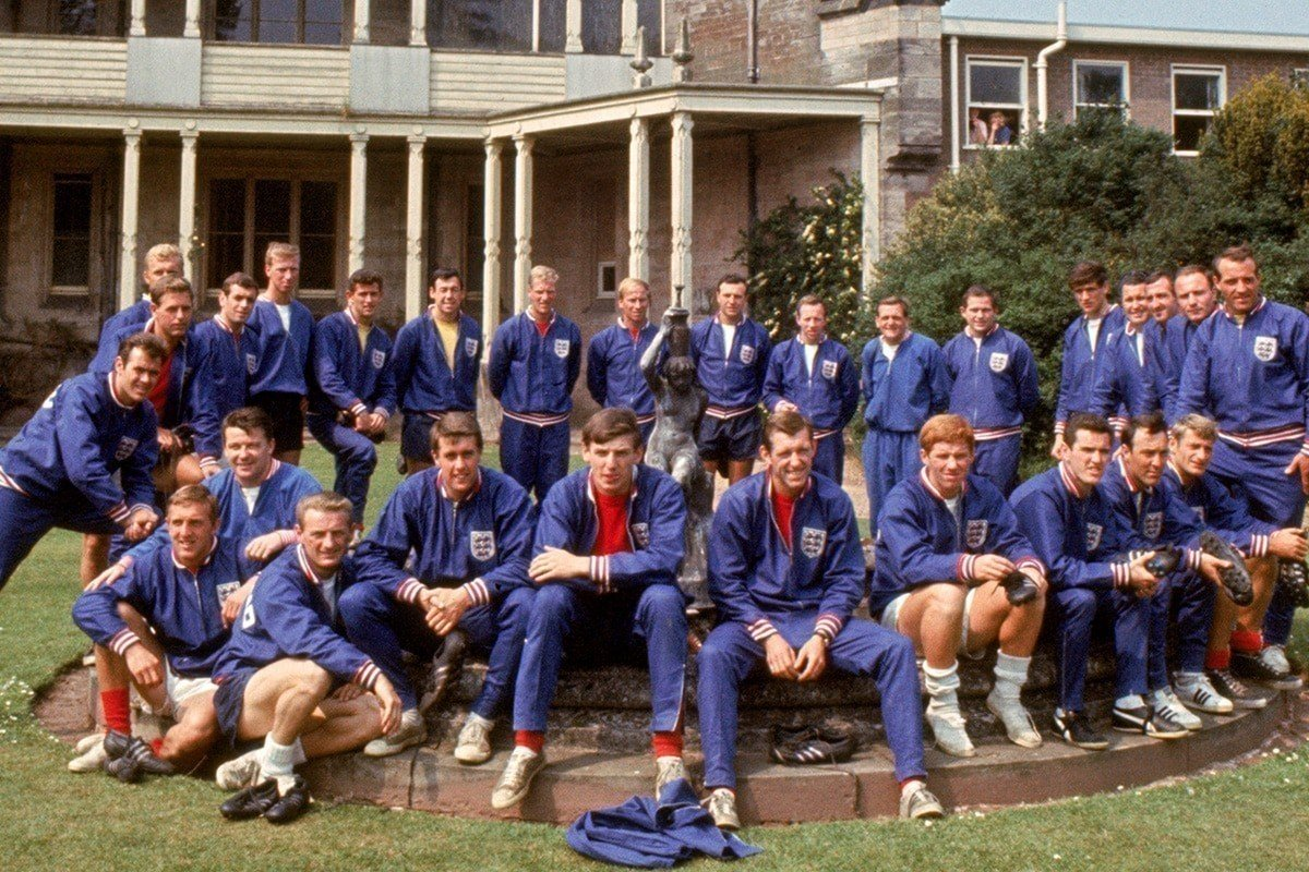 England World Cup Team 66