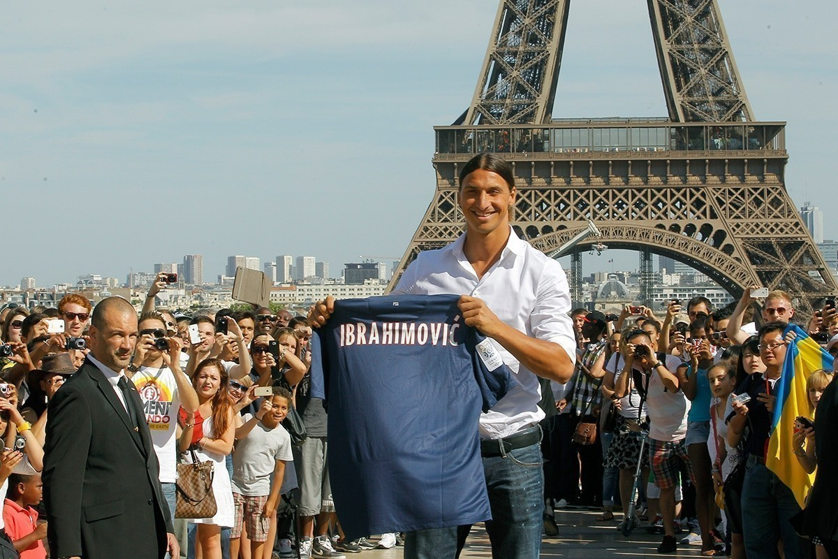 Zlatan Ibrahimovic paris