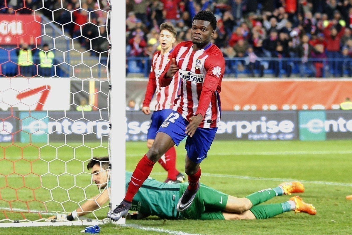 Thomas Partey transfer from Atletico Madrid to Arsenal
