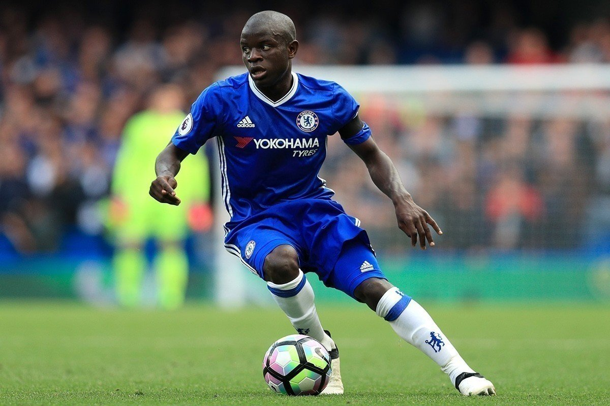 N'Golo Kanté has formed a strong partnership with Nemanja Matic this season.
