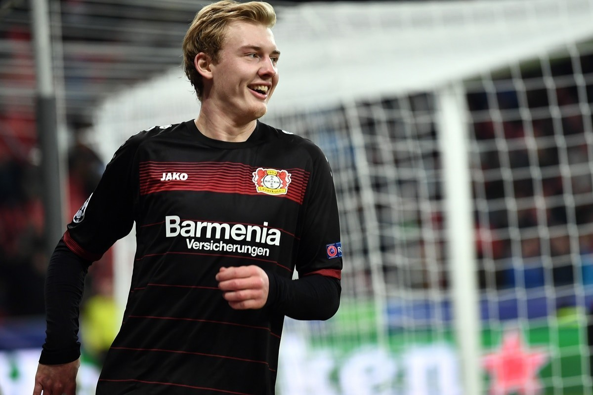 Julian Brandt is one of the brightest prospects in Europe.