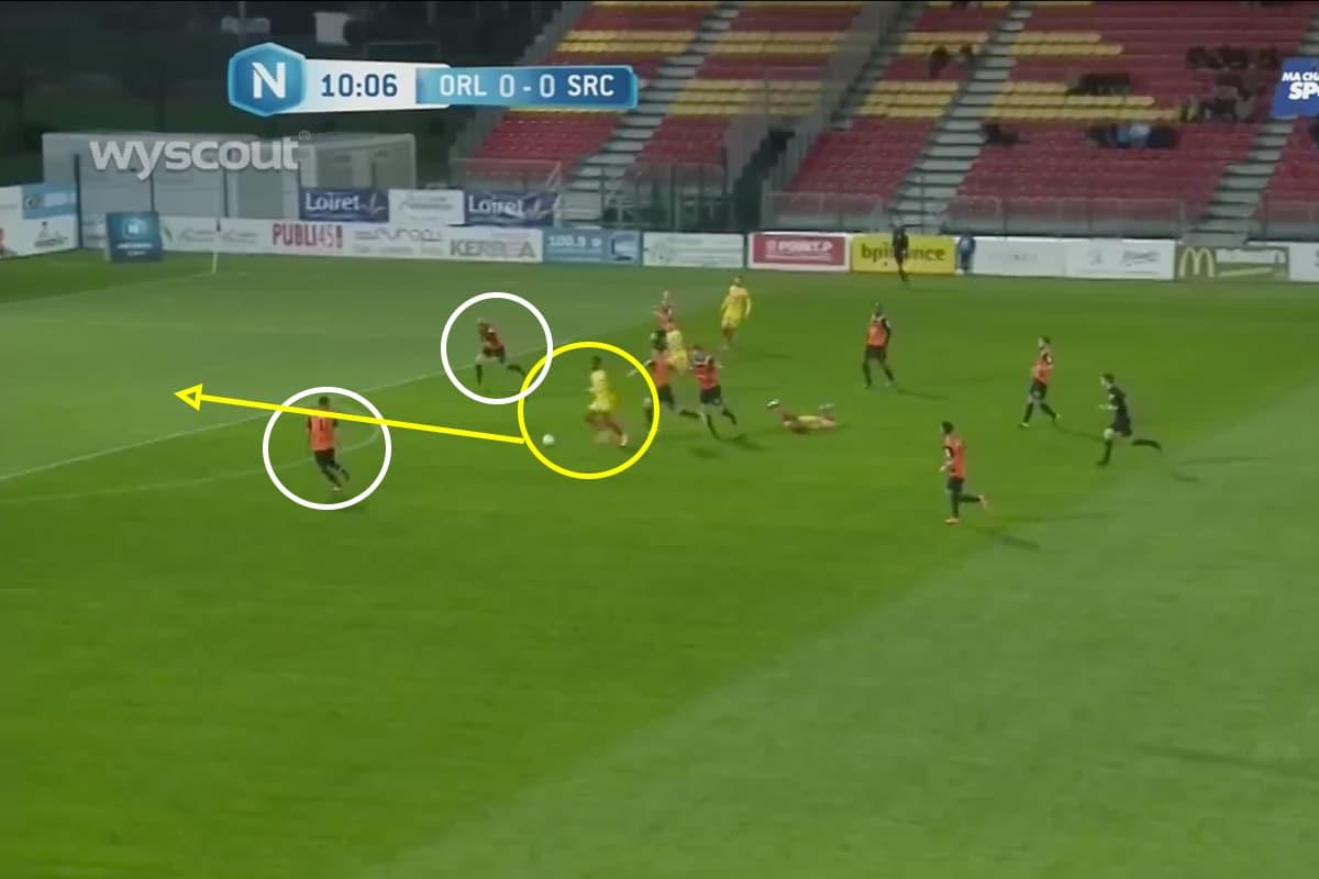 Nicolas Pépé scoring a wonderful goal against Colmar
