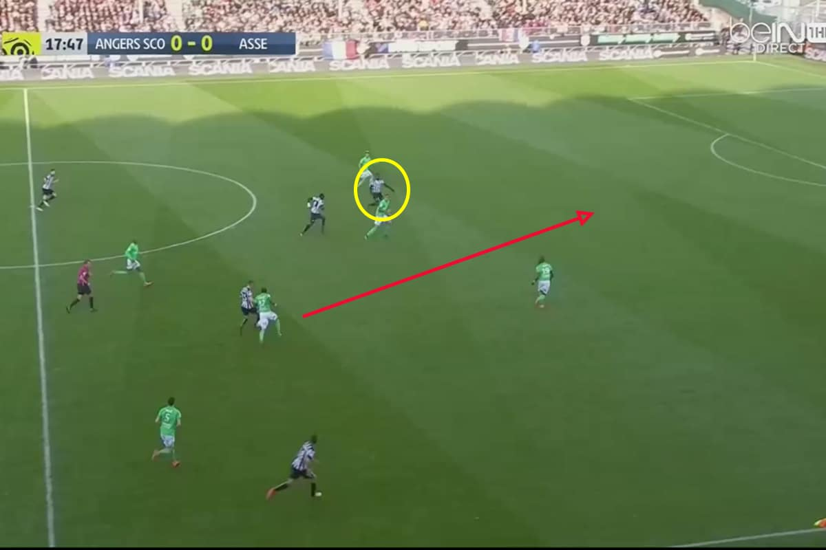 Pepe has the ability to play through the middle.