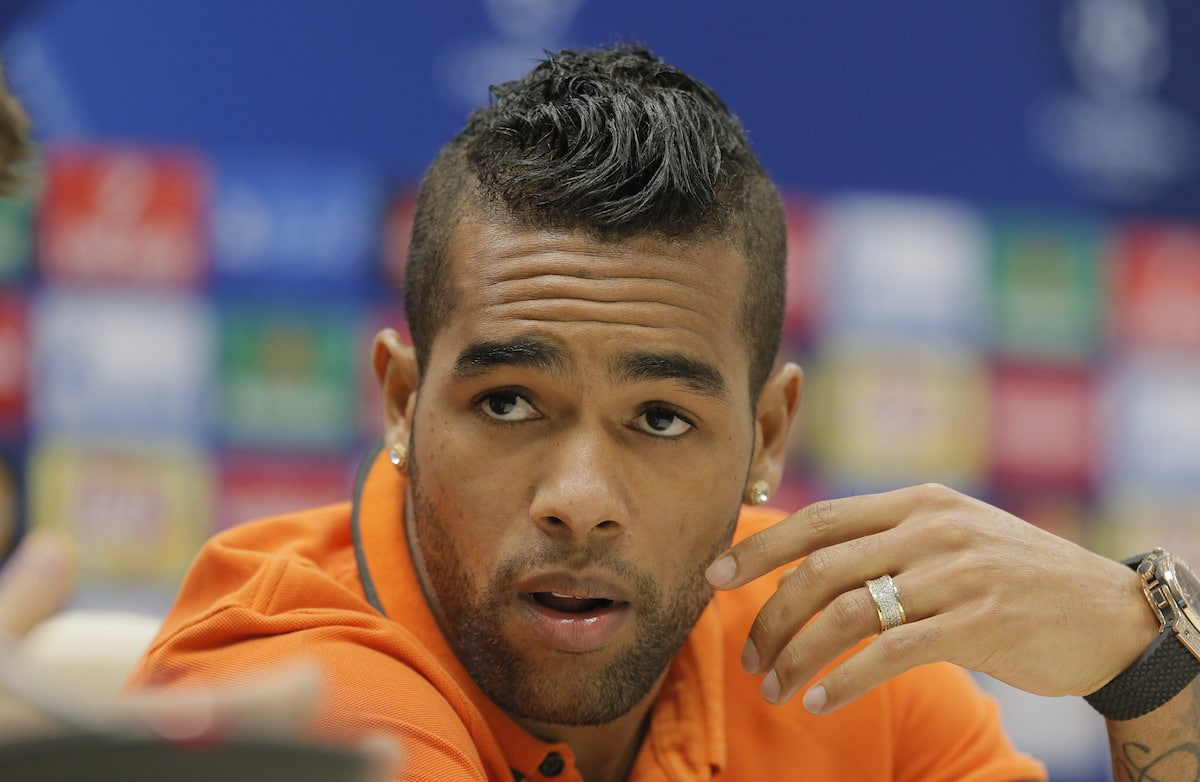 FILE - In this Sept. 29, 2015 file photo, FC Shakhtar's Alex Teixeira attends a press conference at Arena Lviv stadium in Lviv, Western Ukraine. Shakhtar Donetsk has confirmed Friday Jan. 5, 2016, Brazilian midfielder Alex Teixeira is set to move to Chinese club Jiangsu Suning for an Asian record transfer fee of 50 million euros ($56 million). (AP Photo/Efrem Lukatsky, File)