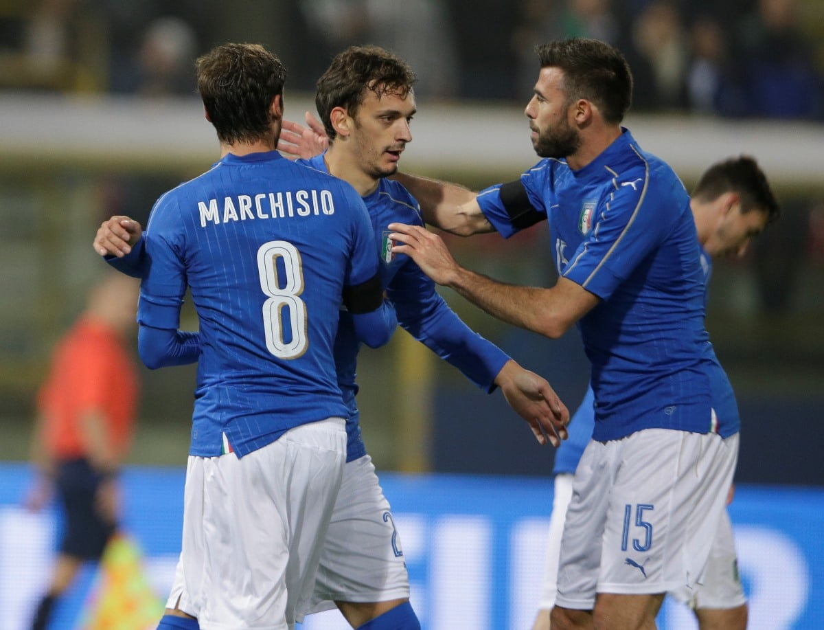 Manolo Gabbiadini has been capped for Italy