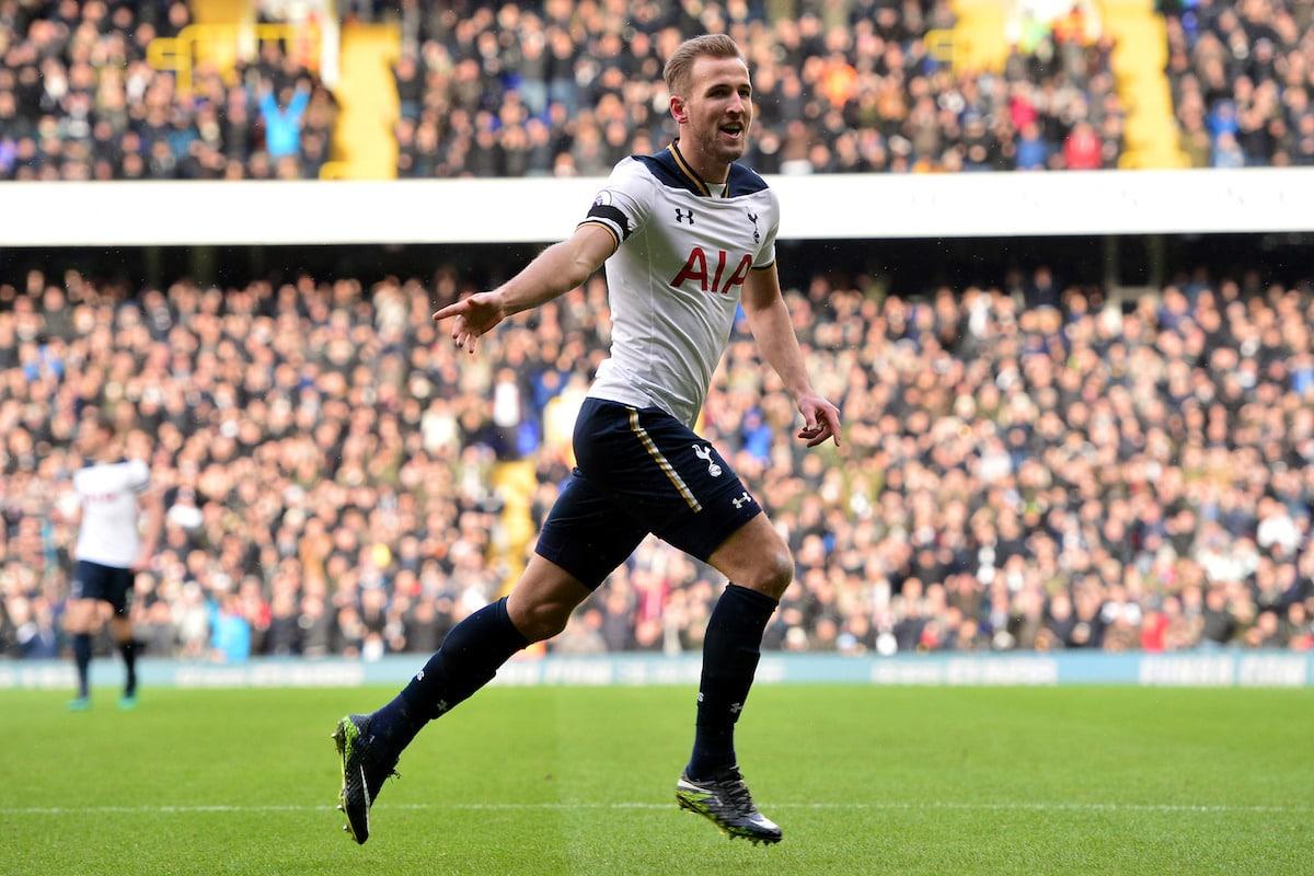 Tottenham Hotspur's Harry Kane.
