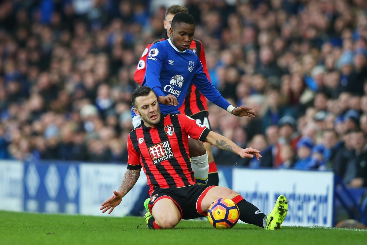 Jack Wilshere has been on loan at Bournemouth this season