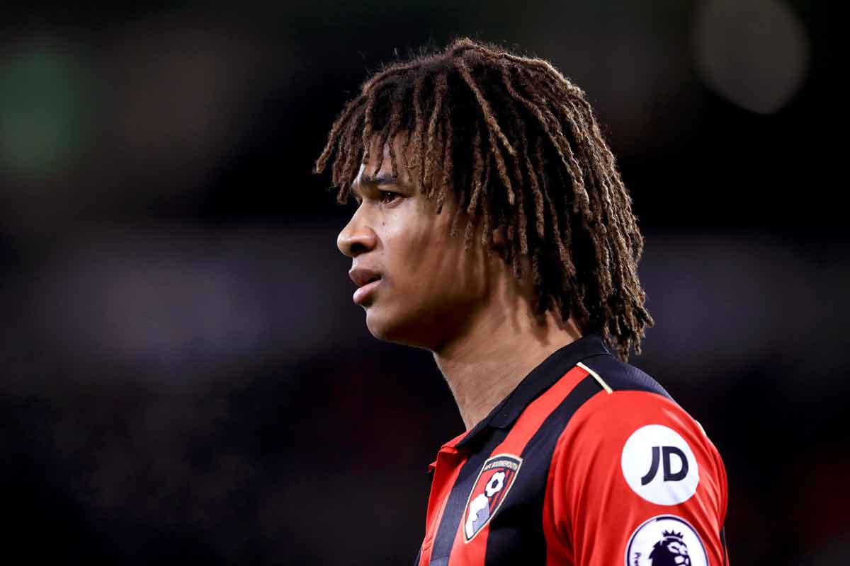 Nathan Ake, at Bournemouth on loan from Chelsea