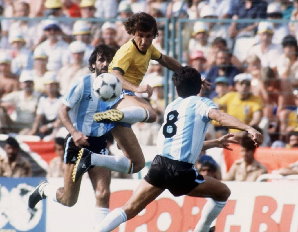 Zico is one of the greatest Brazilian footballers ever.
