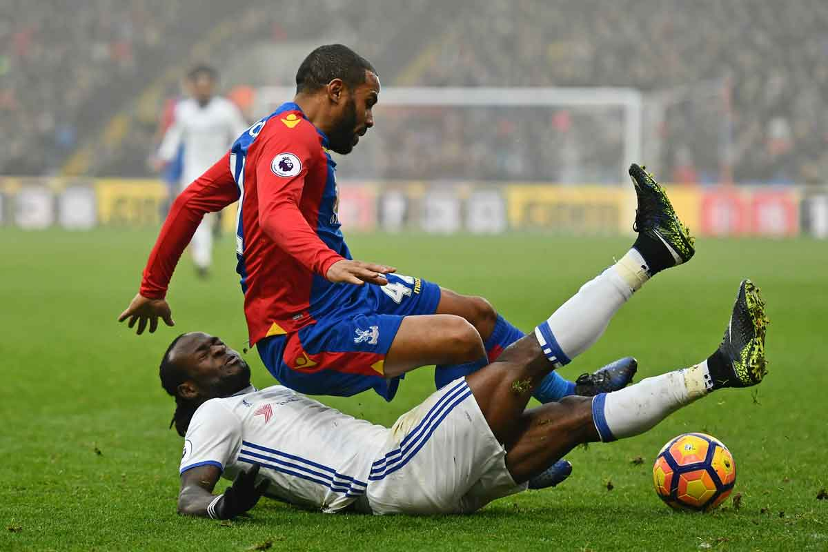 Victor Moses and Jason Puncheon