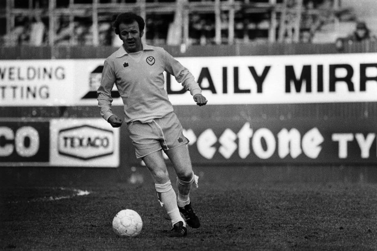 Leeds star Billy Bremner was missing from the final.