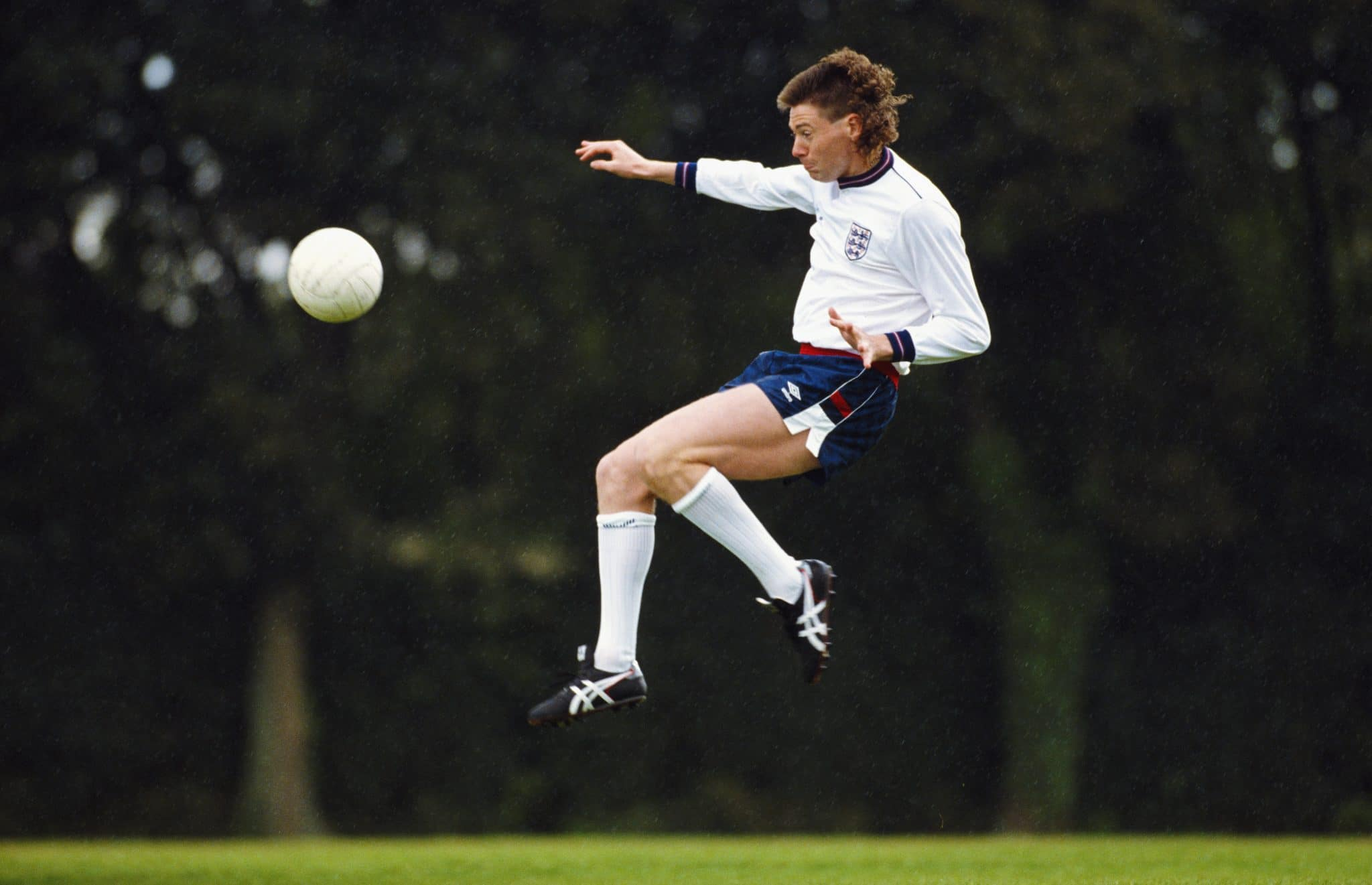 Former England and Tottenham Hotspur player Chris Waddle