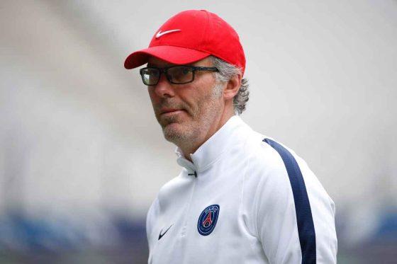 Laurent Blanc at PSG