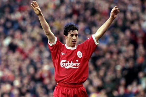 Robbie Fowler of Liverpool