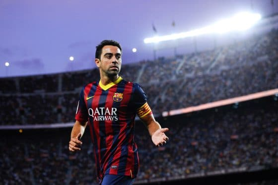 Barcelona midfielder Xavi could play for a Catalonia XI