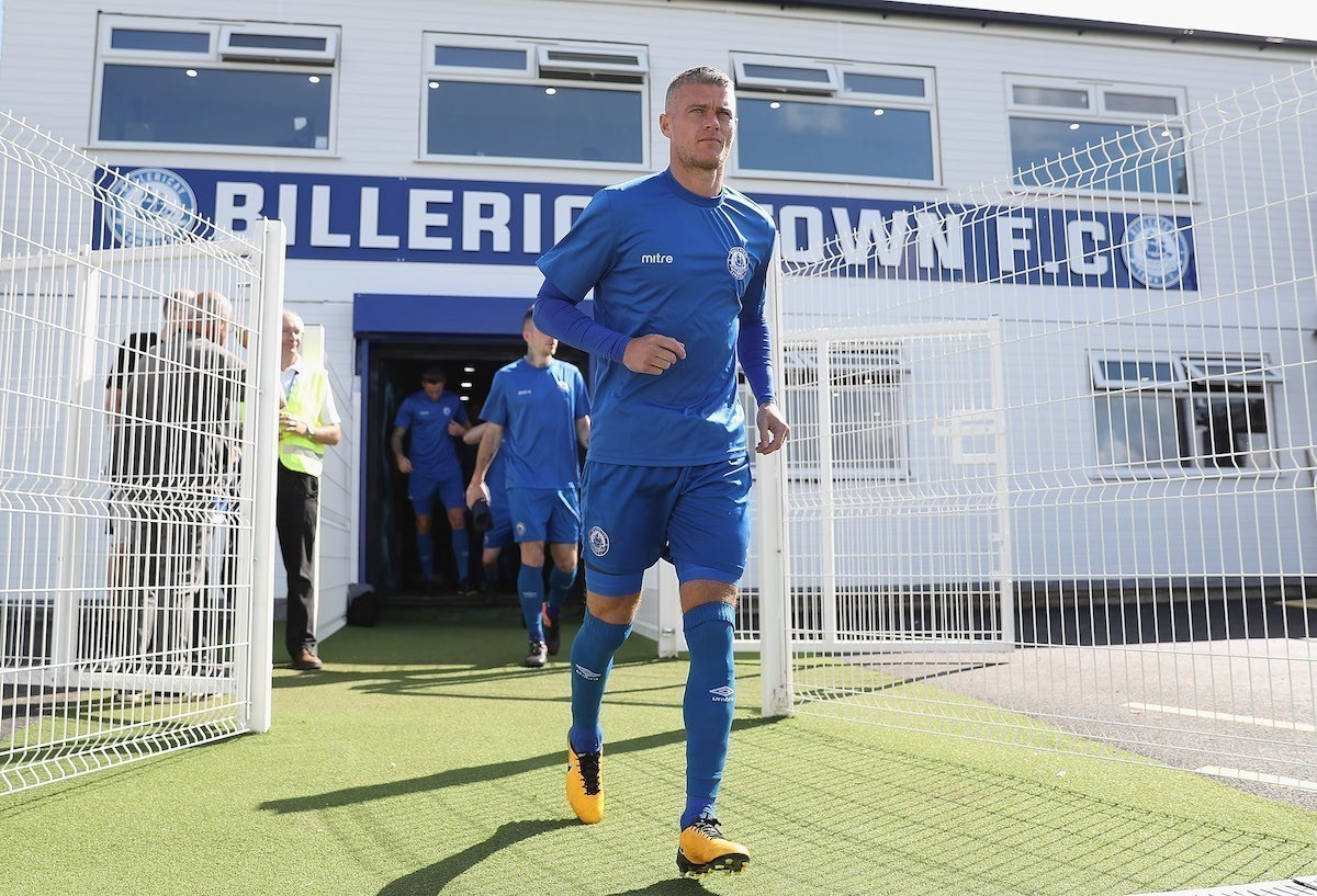 Billericay Town defender Paul Konchesky