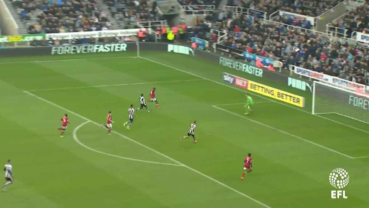 Ryan Sessegnon v Newcastle