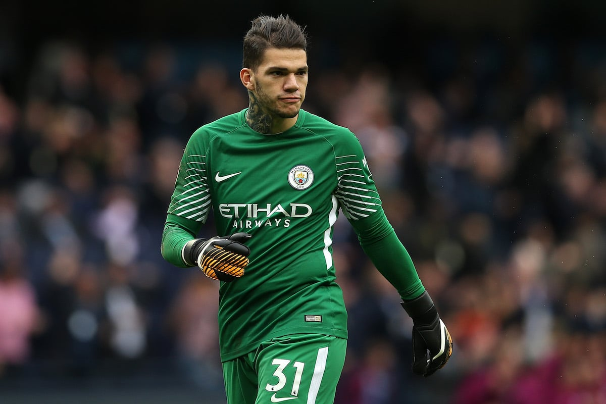 Manchester City keeper Ederson Moraes