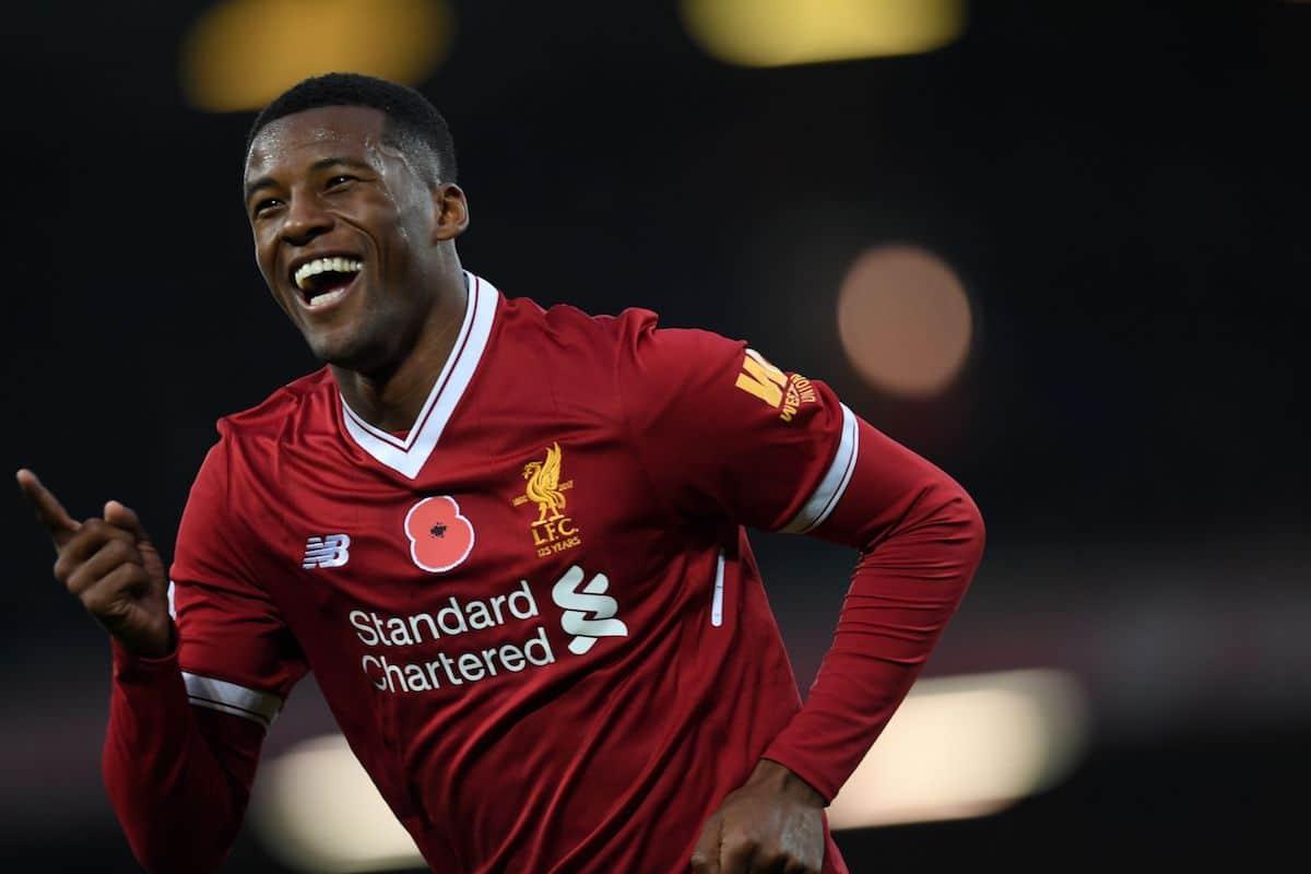 Liverpool midfielder Georginio Wijnaldum could be sold by Jürgen Klopp this summer