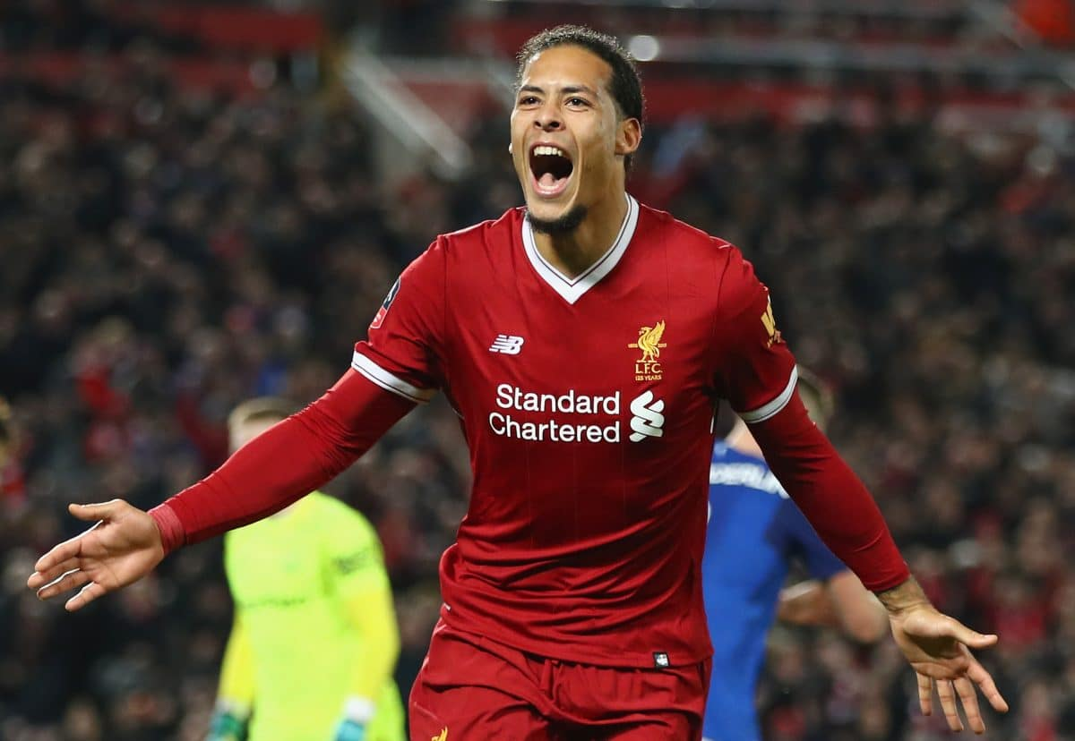 Liverpool defender Virgil van Dijk