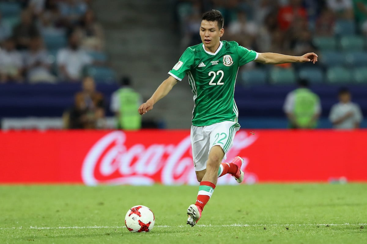 Mexico's hopes in Group F are pinned on forward Hirving Lozano