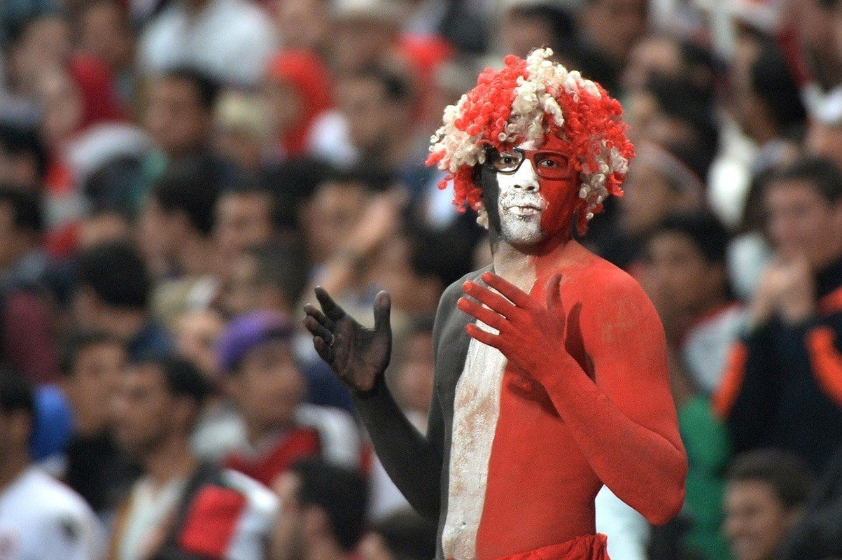 Egyptian football fan