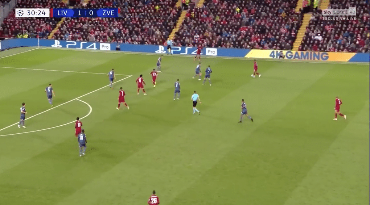 Return of the unpredictable: Exploring Liverpool's 4-2-3-1 shape
