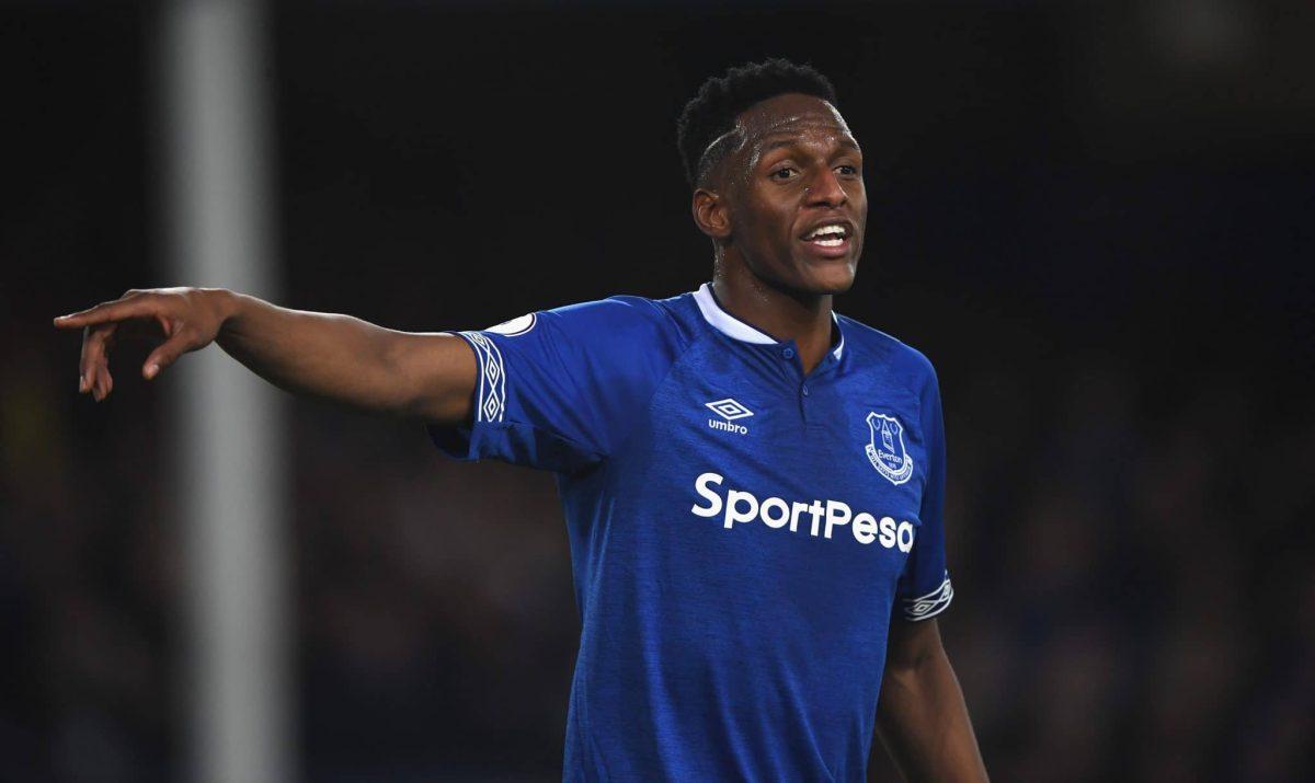 Everton defender Yerry Mina