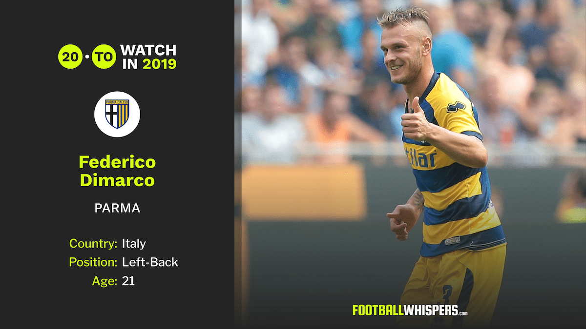 Football Whispers' 20 to Watch in 2019: Federico Dimarco