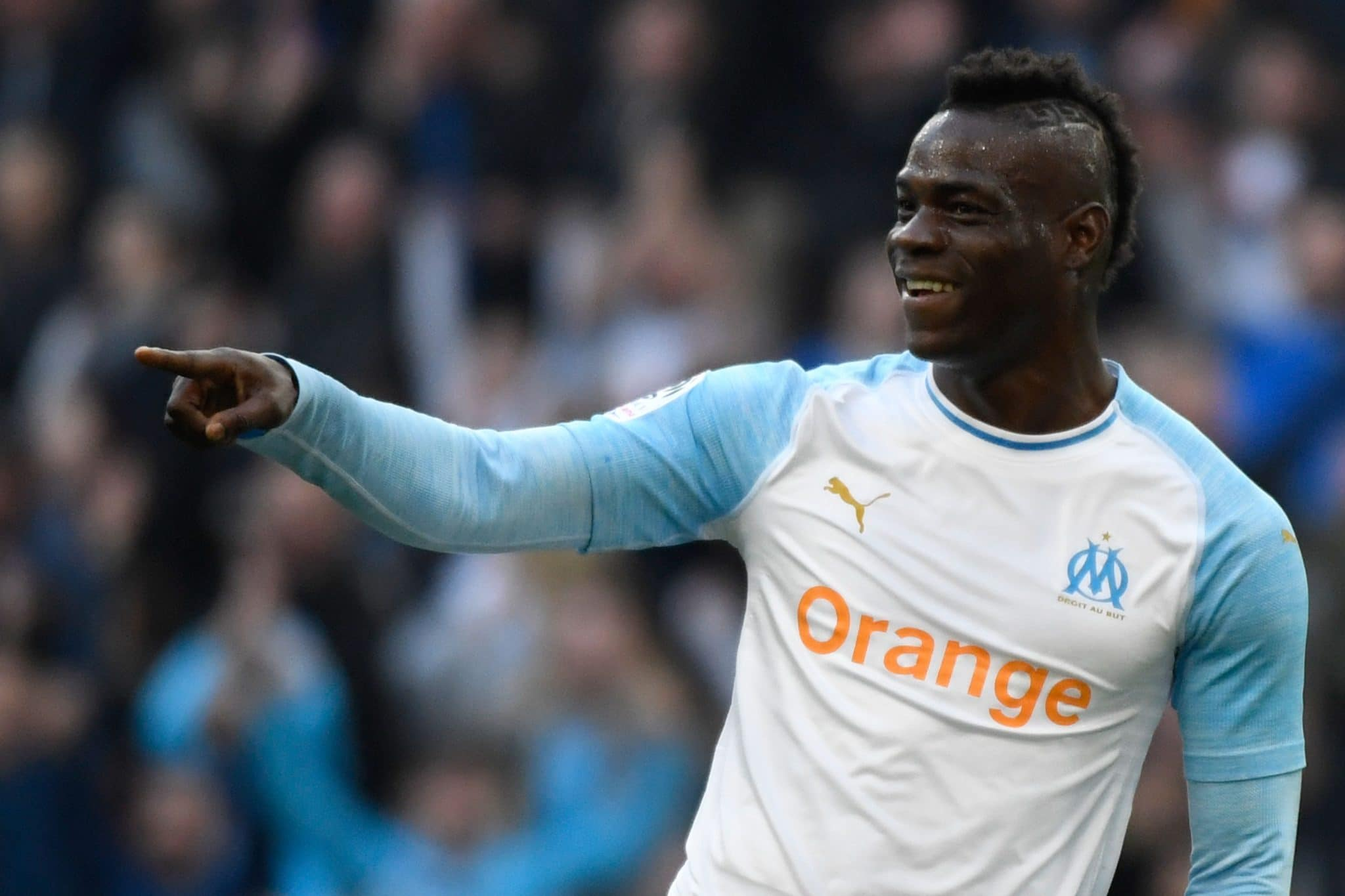 Marseille striker Mario Balotelli is reportedly a West Ham transfer target