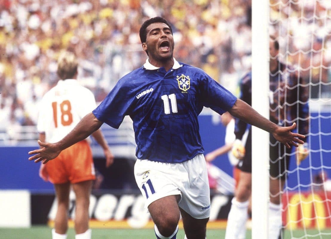 Romario is one of the greatest Brazilian footballers ever.
