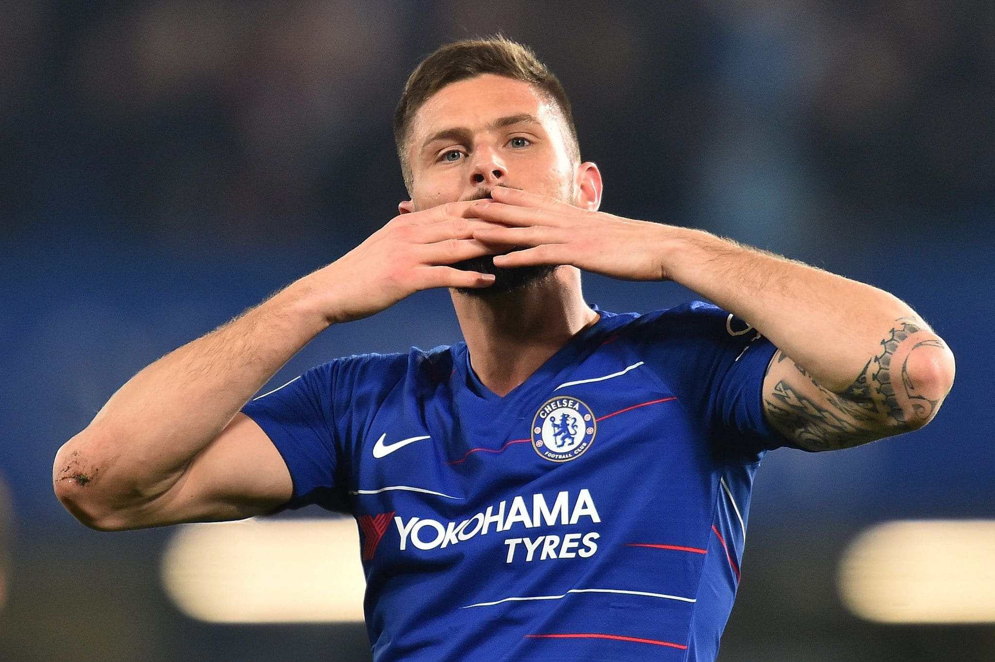 Chelsea striker Olivier Giroud could make a move during the January transfer window