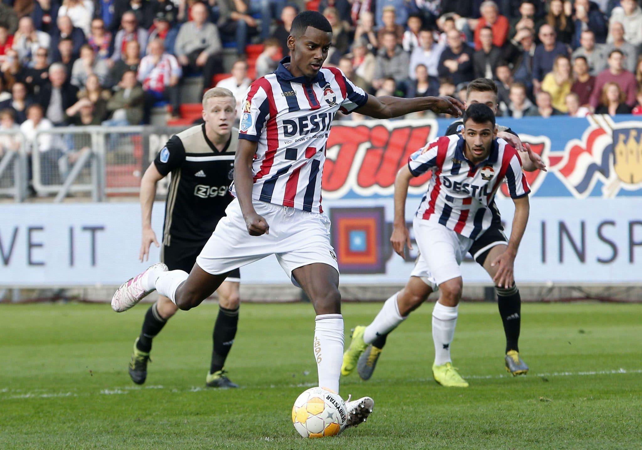 Alexander Isak, Willem II, Dortmund
