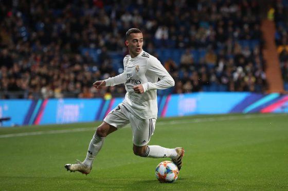 Real Madrid forward Lucas Vázquez