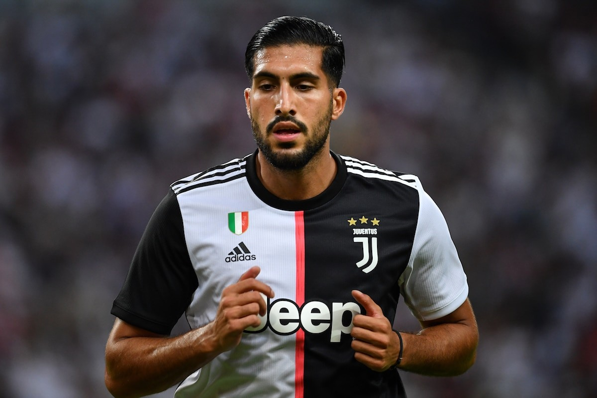 Juventus' Emre Can is reportedly a Manchester United transfer target