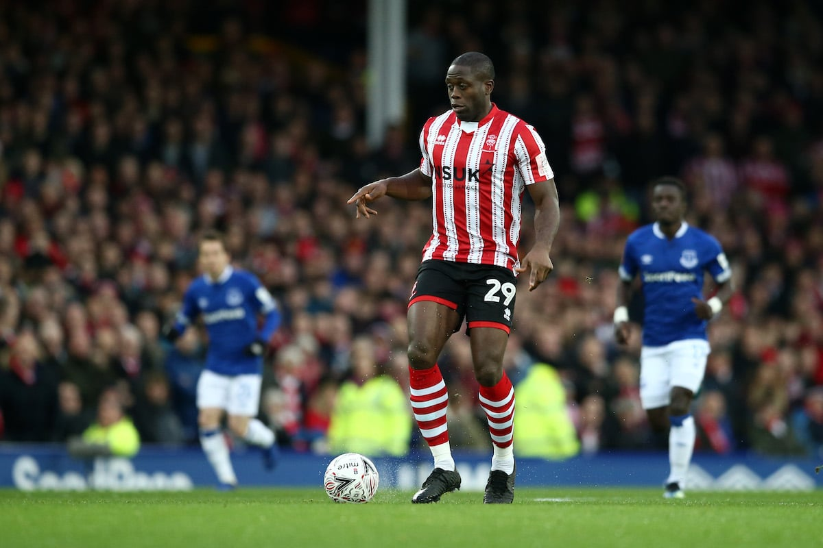 Lincoln City striker John Akinde was signed by Danny Cowley