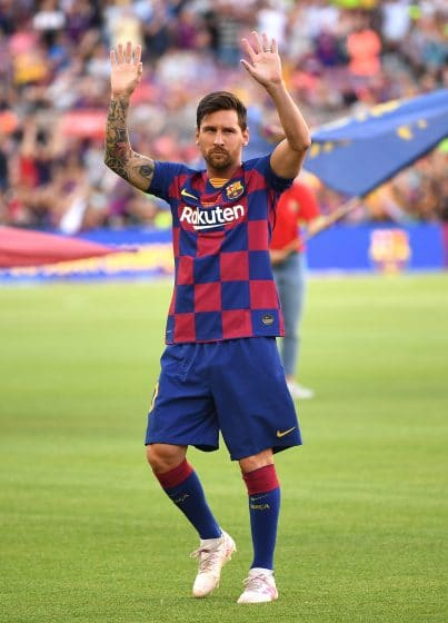 Betrayed and heartbroken Lionel Messi leaves Barca with a heavy heart