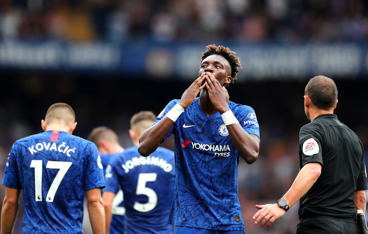 Chelsea forward Tammy Abraham