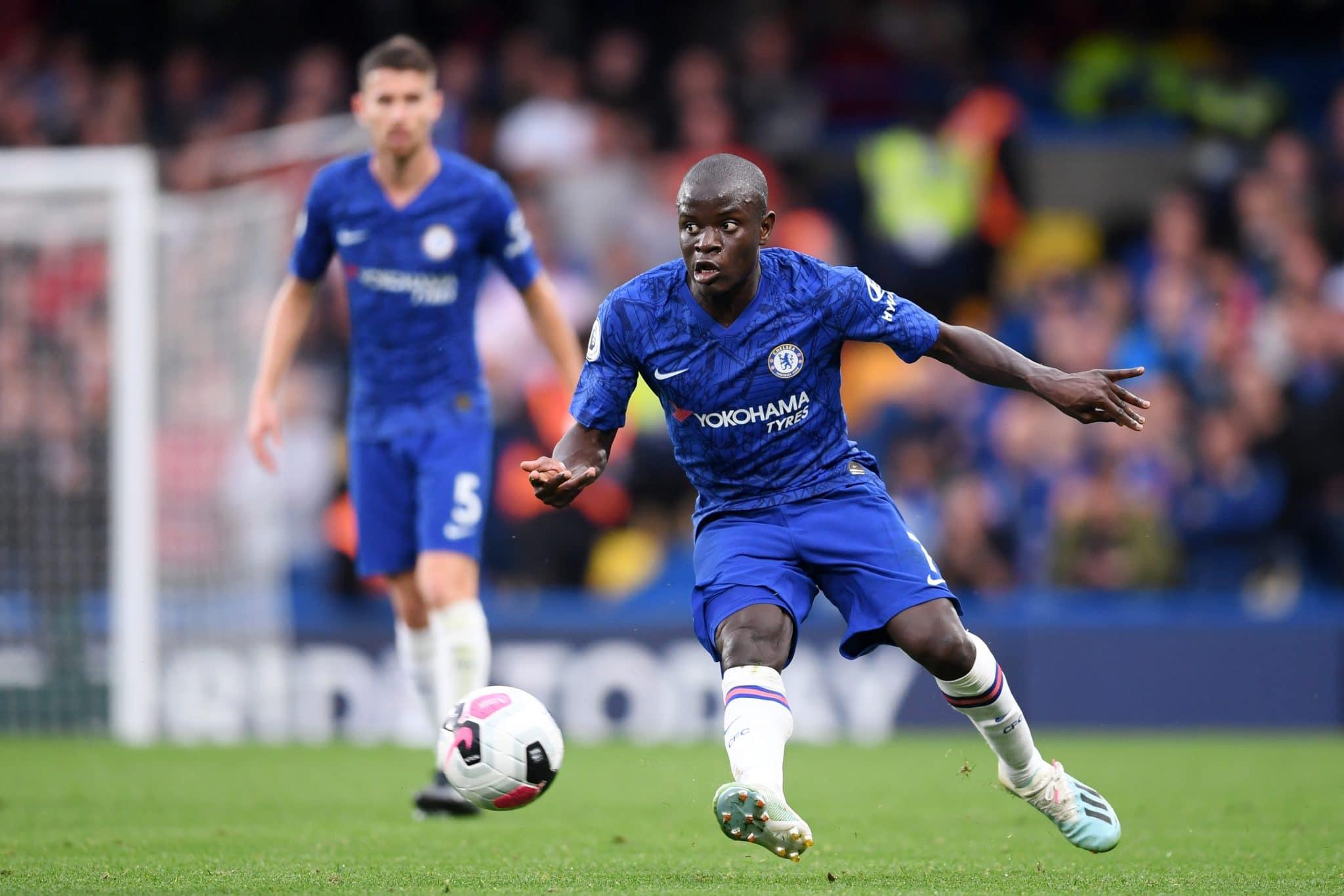 Chelsea midfielder N'Golo Kanté