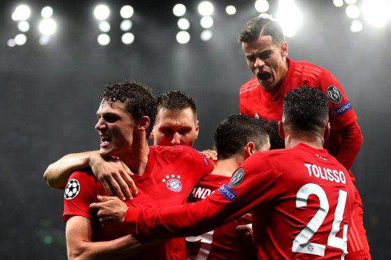 Bayern Munich Champions league tips