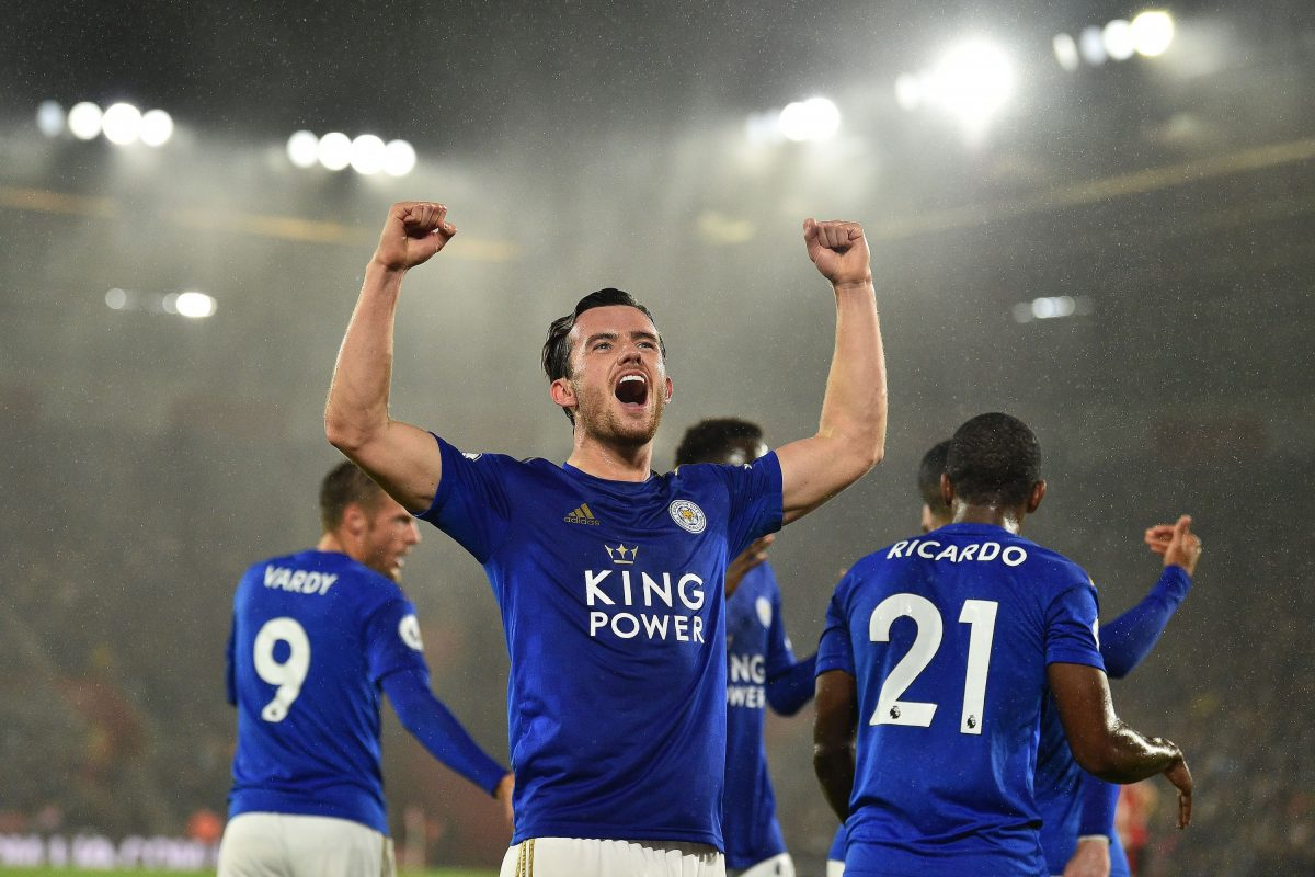 Leicester City defender Ben Chilwell