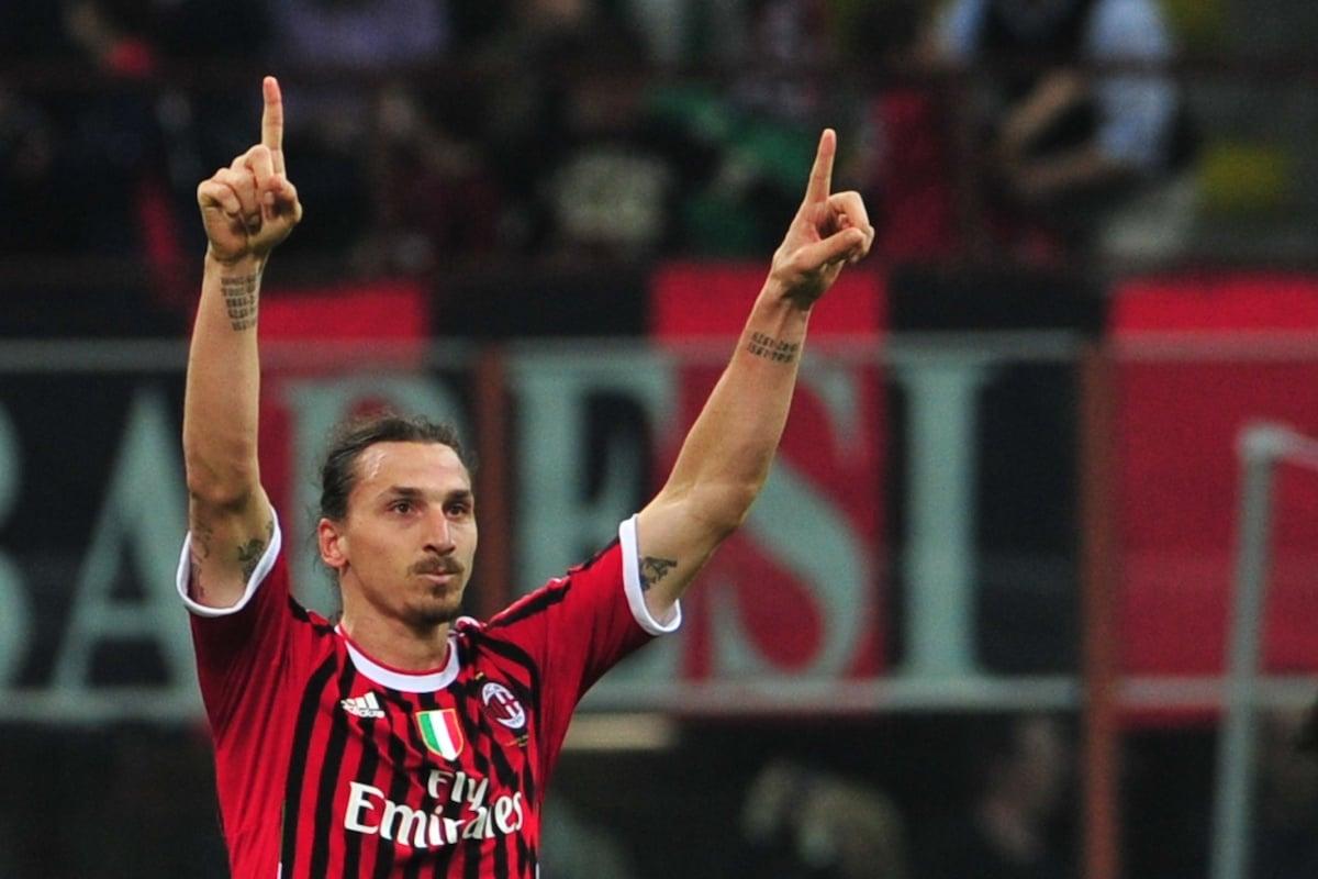 Milan striker Zlatan Ibrahimović