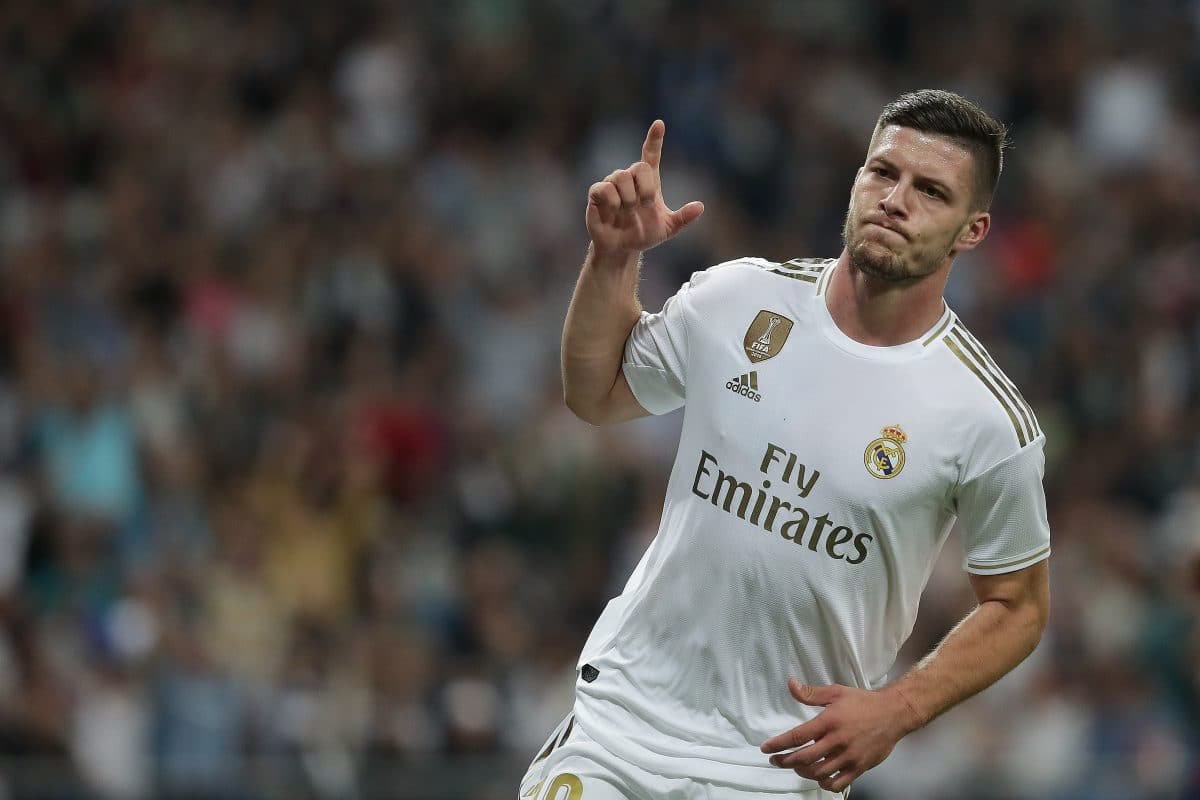 Real Madrid striker Luka Jović could be usurped by Galácticos this summer