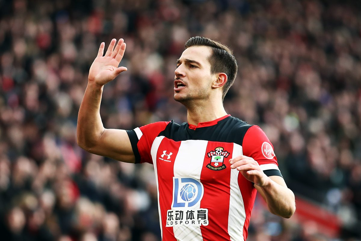 Southampton defender Cédric Soares has joined Arsenal on loan