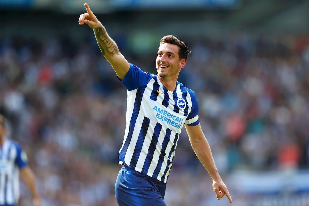 Brighton & Hove Albion defender Lewis Dunk