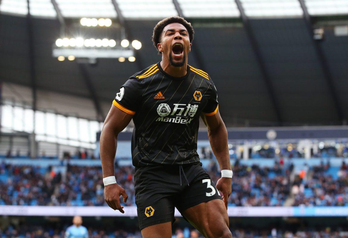 Wolverhampton Wanderers winger Adama Traore