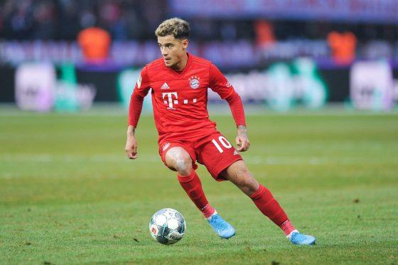 Bayern Munich attacker Philippe Coutinho